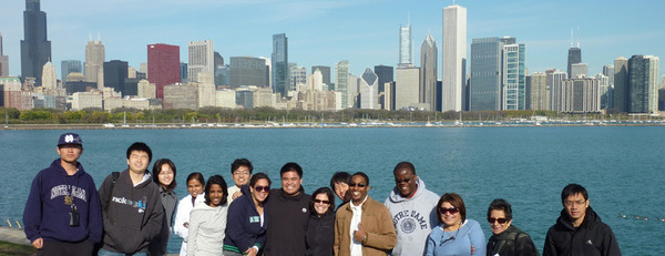 ISSA students in Chicago