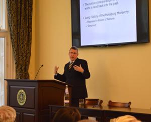 John Deak Presenting