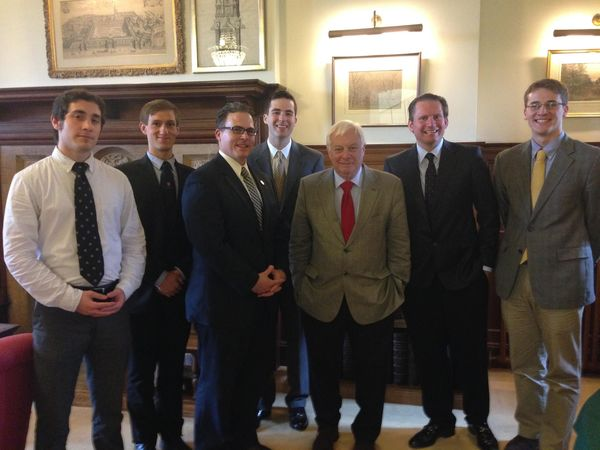 Notre Dame Tea with Lord Patten at University of Oxford