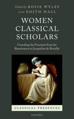 Women Classical Scholars Book Cover