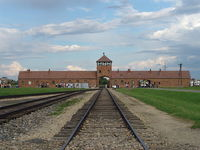 The Railway Tracks On The Auschwitz II-Birkenau Site