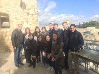 Students in 'Literature and Inter-Religious Understanding II' visit the Old City of Jerusalem
