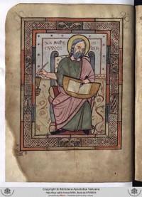 Paleography Evangelist Matthew Barb Lat