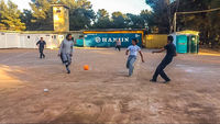 Soccer In The Camp